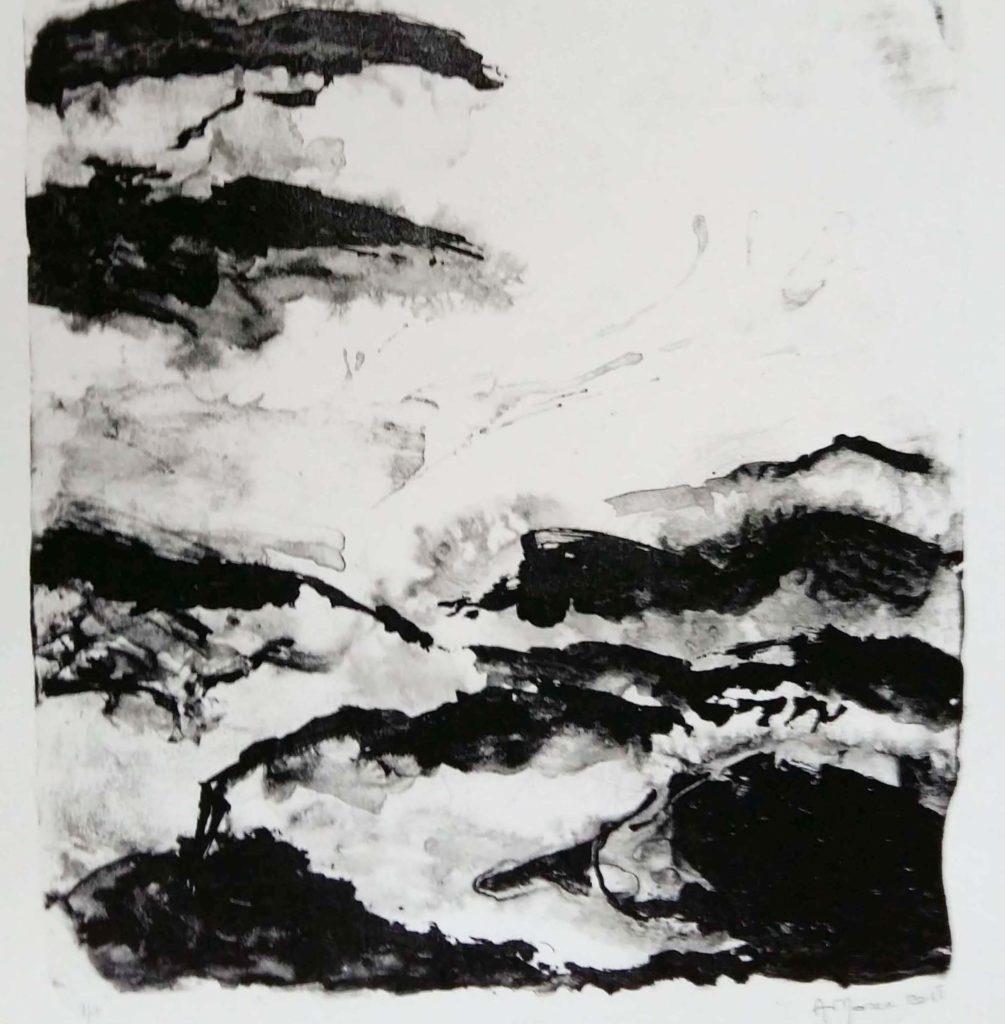 lithographie monotype gravure estampe