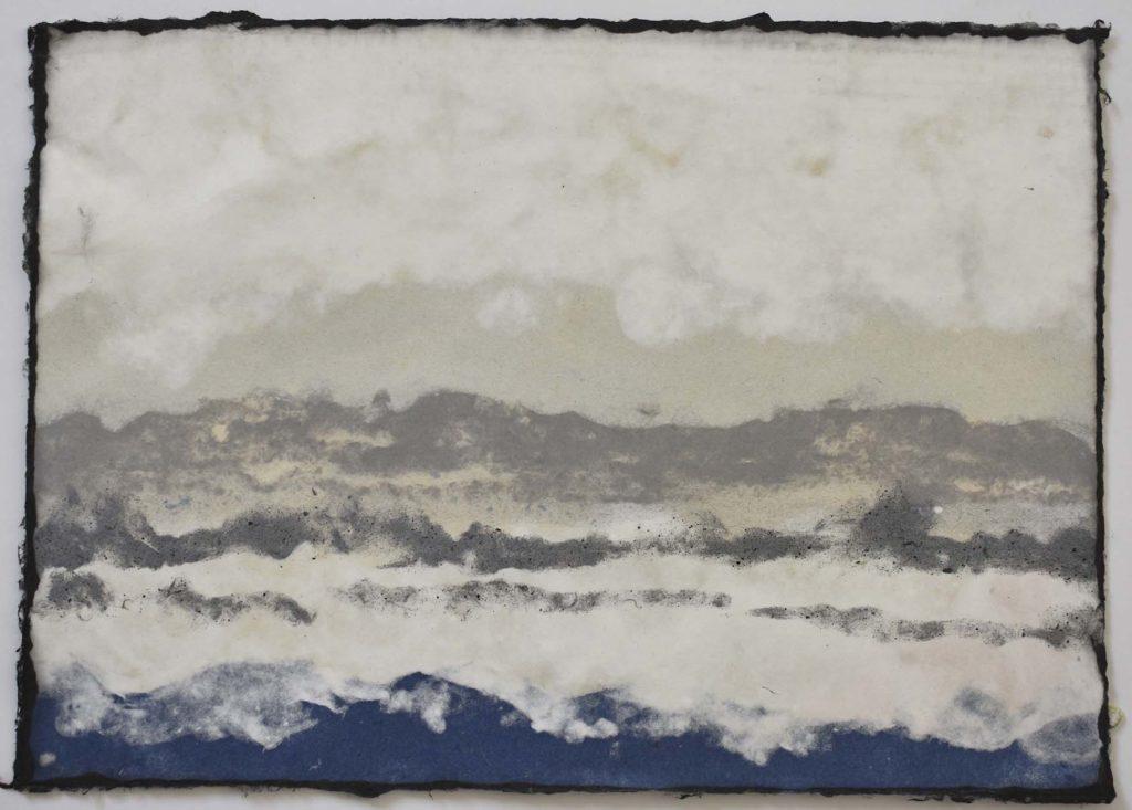 art paper kozo lokta paysage